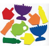 Chanukah Jumbo Foam Shapes