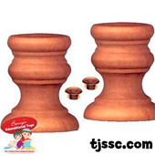 Wooden Candlesticks for Decorating