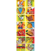 The order of the Seder Stickers