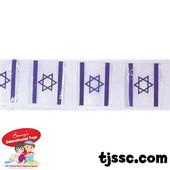 Large Israel Plastic Flag Chain