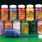 Large Assorted Craft Sand Bottles