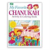 Chanukah Activity & Coloring Book