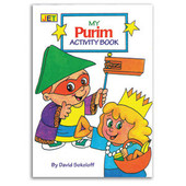 "Purim Mini Activity Book, 4""x 6"""