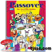Passover with the 10 Little Rabbis Coloring Book