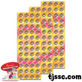My Morah is Proud of me Colorful Sticker Dots (189 Stickers)