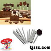 Lollipop Sticks for use with Chocolate Molds