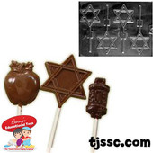 Star of Lollipop Chocolate Molds