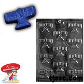 Make Your Own Menorah Magnet Molds