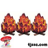 3 piece Fire Card Board