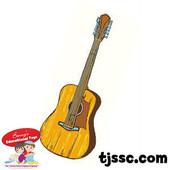 Guitar Card Board