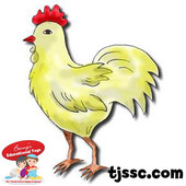Kapparah Chicken Drawn Style Card Stock