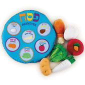 My Soft Passover Seder Plate Set