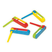 Tiny Plastic Noisemakers (48)
