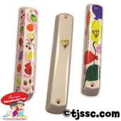 Plastic Mezuzah Cases for Decoration - BULK as low as $1.69ea.
