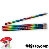 Happy Birthday in Hebrew Incentive Pencils
