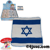 Israeli Flag Magic Towel Opens up when put in Water!
