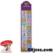 Hebrew Aleph Bet (Hebrew Alphabet) Bookmarks
