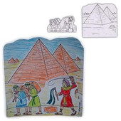 "3D ""Slaves in Egypt"" Passover Arts & Crafts Kits"