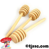 Unfinished Wood Honey Dippers