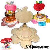 Wood Rosh HaShanah Honey Dish Holder Project