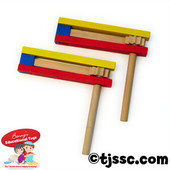 Traditional Wood Purim Gragger (as low as $0.99 in Bulk)