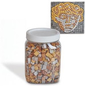 Israeli Mosaic stones Metallic