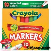 Crayola 10 pc. Marker Set