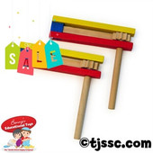 Colorful Jumbo Wooden Gragger on Sale