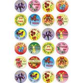 Hebrew Encourgment Stickers in Hebrew