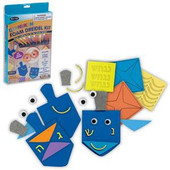 D-I-Y Foam Hannukah Dreidle Craft Kit Hanukkah arts and craft project
