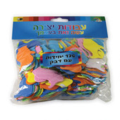 Hanukkah Oil Pitcher Self-Adhesive Foam Shapes for Chanukah Crafts