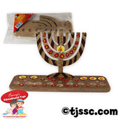 Simple MDF Upright Menorah (Menorah Design) DIY Craft Project