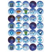 Israel Symbols Stickers