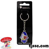 Hamsah Jerusalem Key Holder