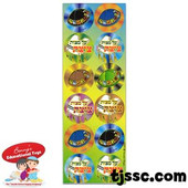 Kippah (Yarmukle) and Tzizit Sticker Stickers