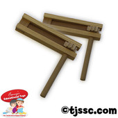 Natural Wood Traditional Gragger 4.5""