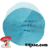 Light Blue Crepe Streamer