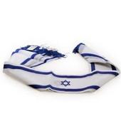 Israel Flag Scarf
