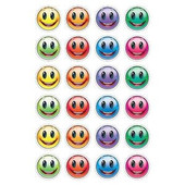 Colorful Smiley Stickers