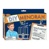 D-I-Y Menorah Kit - Plan It! Build It! Light It!