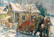Jewish artist's work captures human dignity & betrayal in WW2, by Shelley Seid