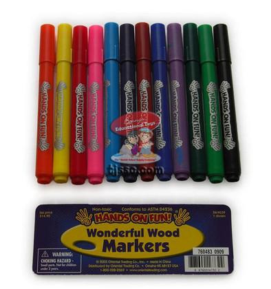 Wonderful Wood Markers