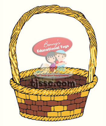 Colorful Basket Card Stock