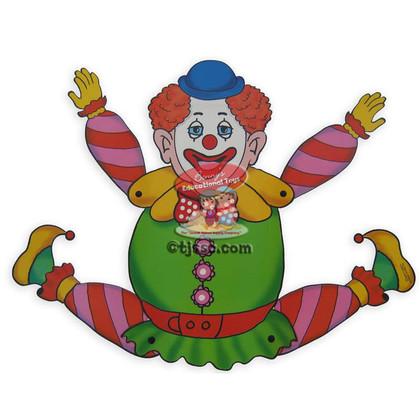 Movable Purim Clown