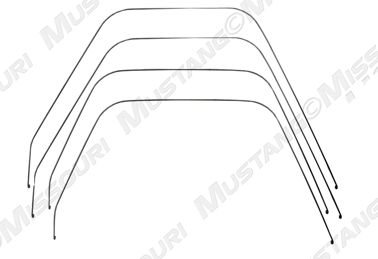 1964-1966 Ford Mustang seat bolster wire set.