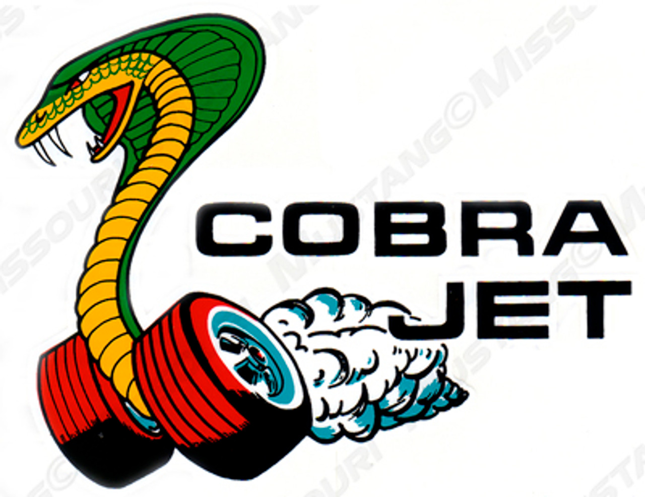 1964 73 ford mustang cobra jet decal rh missourimustang com  ford cobra logo vector