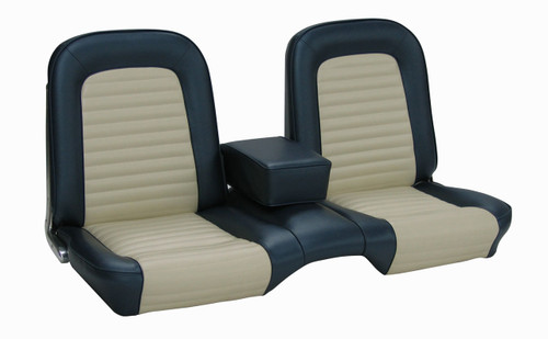 1965 Ford Mustang coupe and convertible front bench only, standard upholstery.