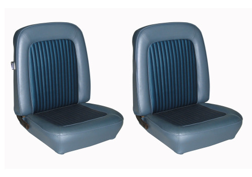 1968 Ford Mustang front seatcovers.  Upholstery for the buckets only.