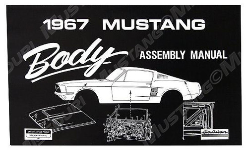 1964-73 Body Assembly Manual