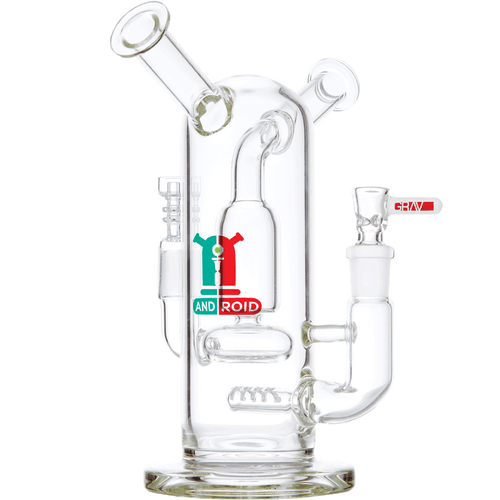 """Grav Labs 8"""" Android Flare Stemless Water Pipe Bong"""